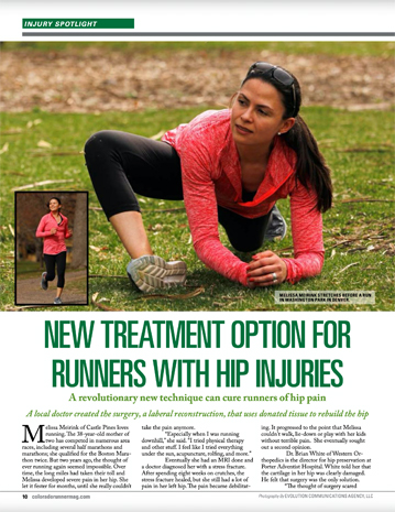 New treatment option for runners with hip injuries